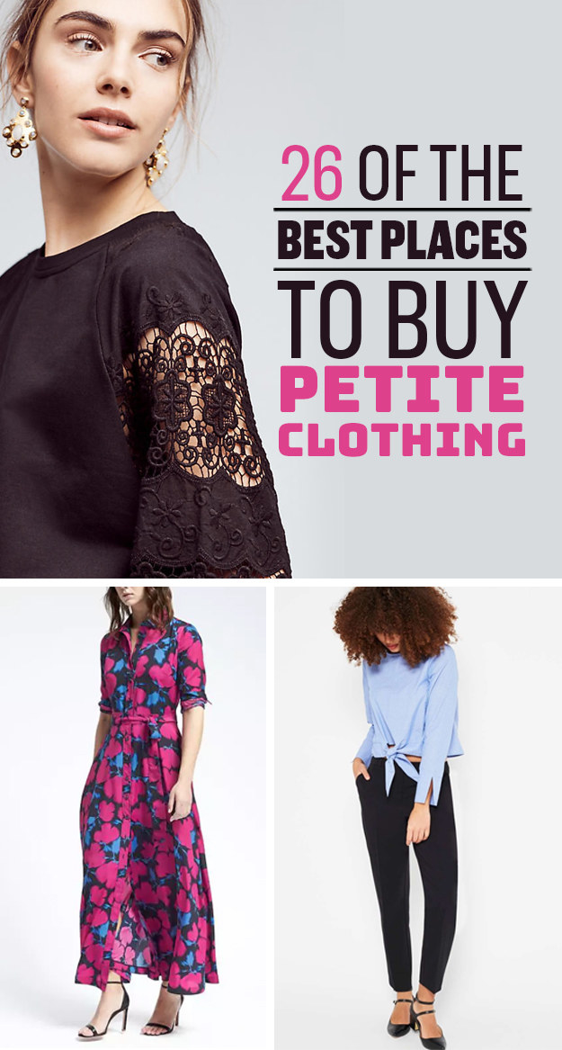 26 of the best places to buy petite clothing tech featured