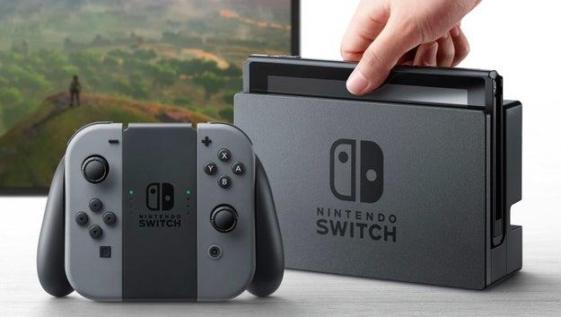 Nintendo anunció oficialmente el Nintendo Switch.
