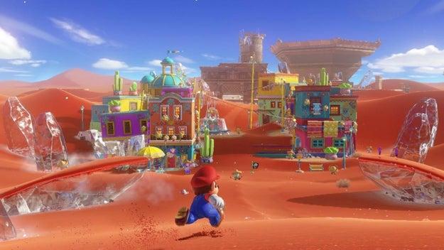 En el primer tráiler el juego se ve un nivel que parece ser una combinación entre el Viejo Oeste y el folclore mexicano.
