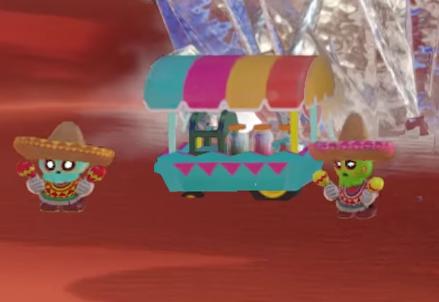 ¿A caso eso es un puesto de esquites? ¿Será la primera incursión de los tamales en el mundo de los videojuegos? ¿SON DULCES OAXAQUEÑOS?