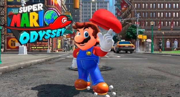 Y como es tradición, una nueva entrega de Mario: Super Mario Odyssey.