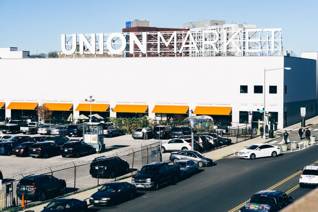 For the couple who wants every date to be an adventure, how about tasting your way around Union Market?