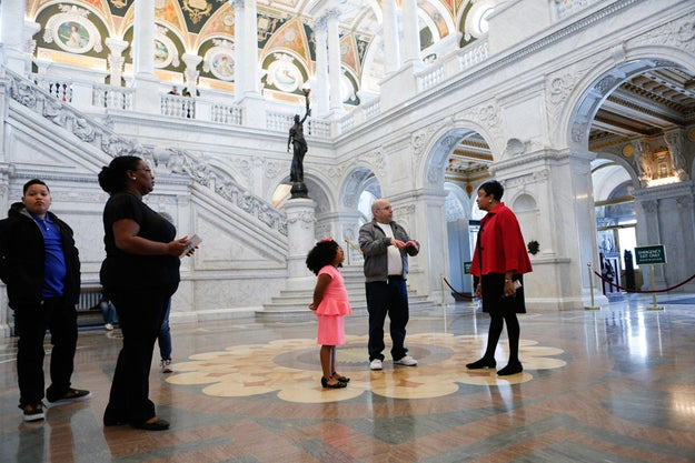 Gayle Osterberg, the Library of Congress's director of communications, told BuzzFeed News that Daliyah was the first librarian for a day, but she won't be the last.
