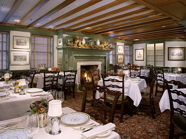 Or dine with class in a historic Federal-style, mid-1800s home at the 1789 Restaurant which recently debuted a new tasting menu.