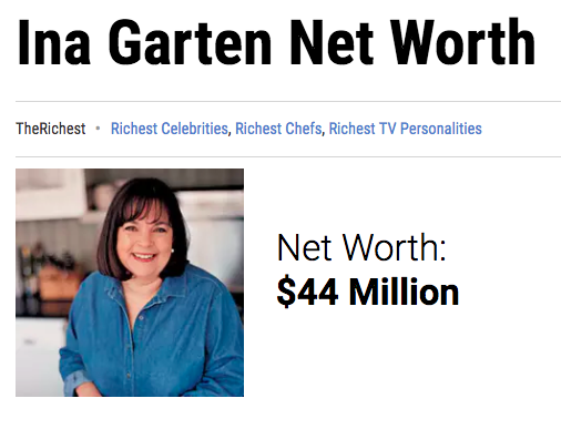 Barefoot Contessa Net Worth 16 surprising facts about ina garten