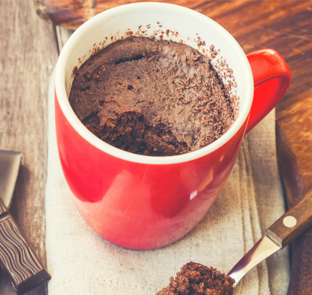 Banana Chocolate Blender Mug Cake