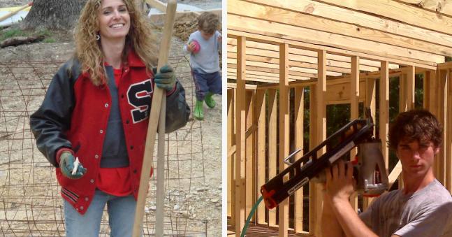 Ein Haus bauen? Frauensache.