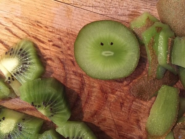 This personable lil' kiwi: