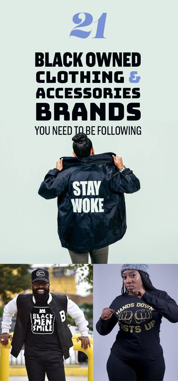 uk store top design best website 21 Black Owned Clothing And Accessories Brands You Need To ...