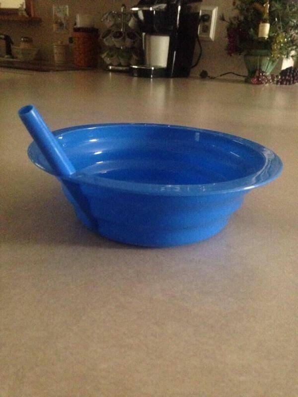 Sippy-straw Bowls