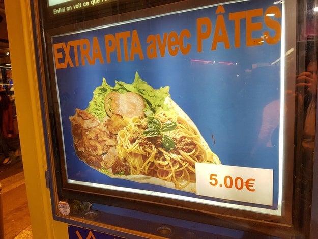 Ce chef-d'œuvre de la gastronomie française.