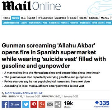 Spanish Supermarket Says Mega Viral Story It Was Attacked By