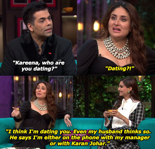 When Kareena admitted to going strong with Karan.