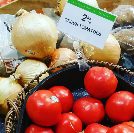 Green tomatoes? Sure.