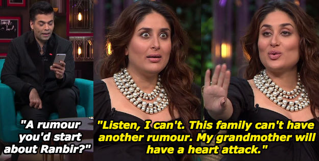 When she was concerned about her dadi's health.