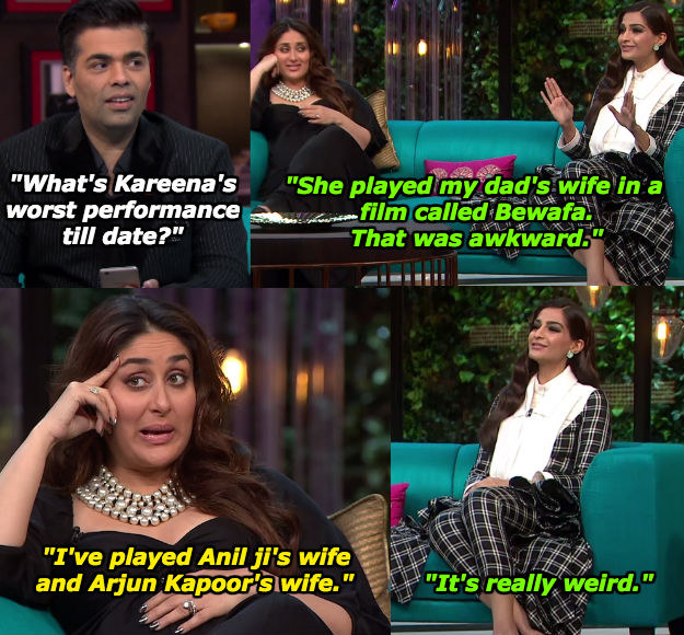 When Sonam was asked about Kareena's worst movie role.
