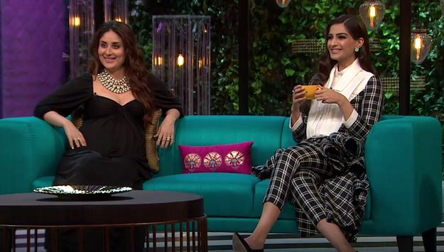 Kareena Kapoor Khan and Sonam Kapoor were tonight's guests on Koffee With Karan.