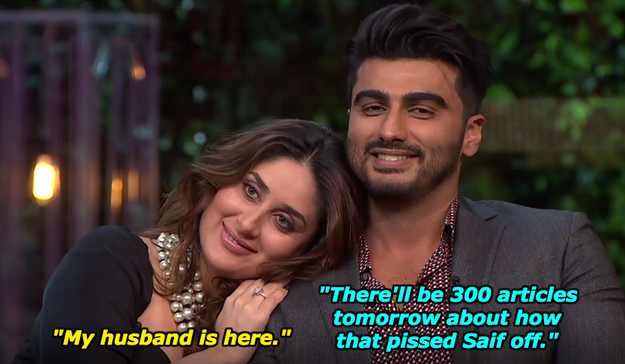 And when Arjun Kapoor showed up once again.