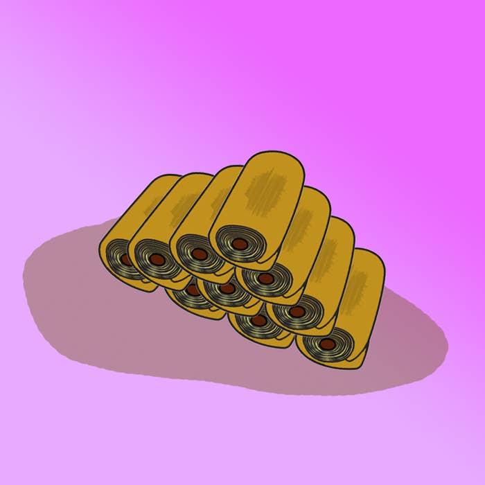 Instead of Jatz, wrap some pastry around those bad boys.