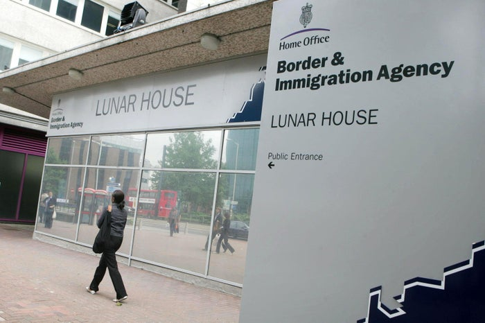 Lunar House, the Home Office Border and Immigration Agency, in Croydon