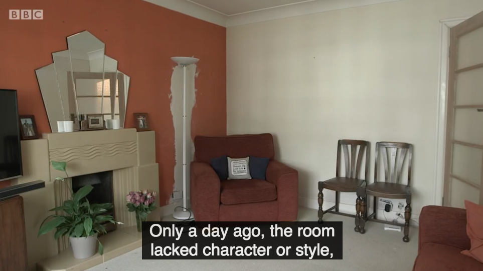 The Great Interior Design Challenge Lets Amateur Interior Designers Loose  On Innocent Members Of The Public.