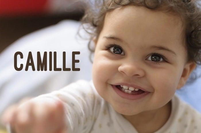 Camille ist ein sehr populärer, geschlechtsneutraler Name lateinischen Ursprungs.