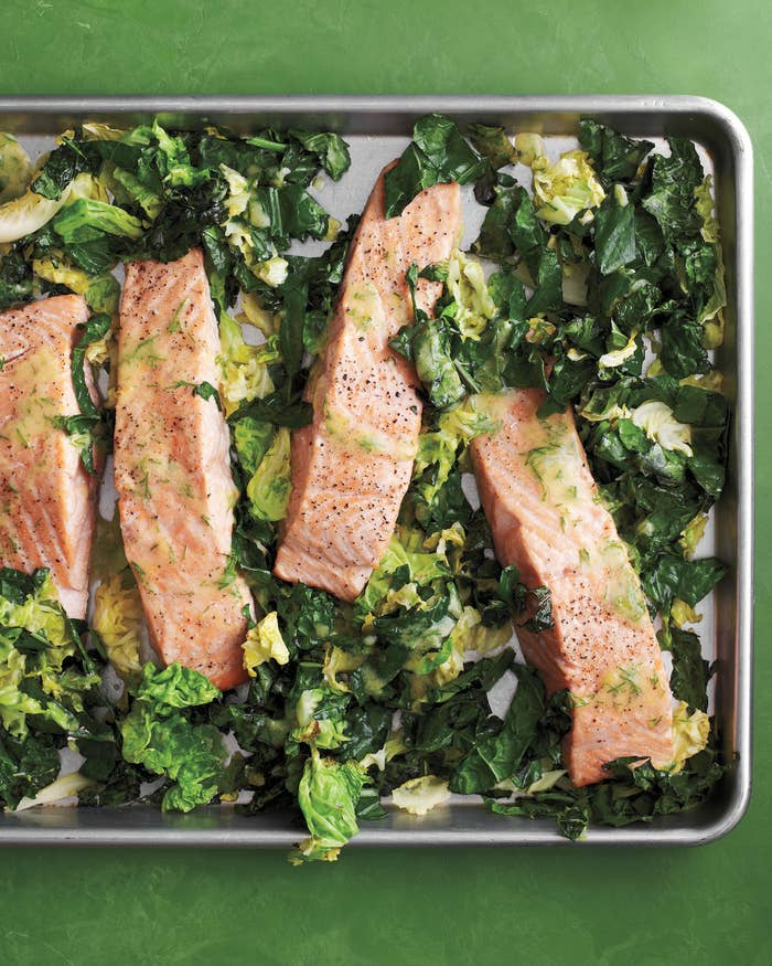 Light, tasty, and quick to make for those busy weeknights. Get the recipe here.