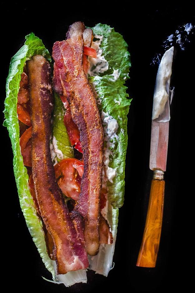 BLT Lettuce Wrap
