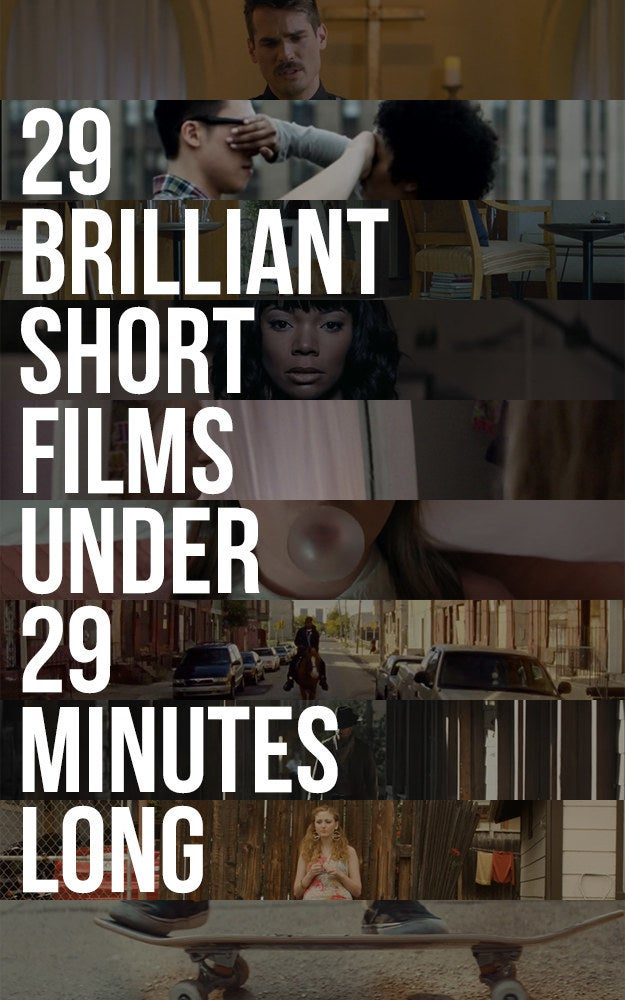 Earlier this week Dan rounded up a list of 29 excellent films you can stream in less than a half hour. Including films by Sofia Coppola, Ava DuVernay, Martin McDonagh and more, the list promises plenty of variety and hours of entertainment.See the list here.If you're looking for a longer watch, Amazon Prime has just released all the episodes of Sneaky Pete, a new show produced by Breaking Bad's Bryan Cranston.