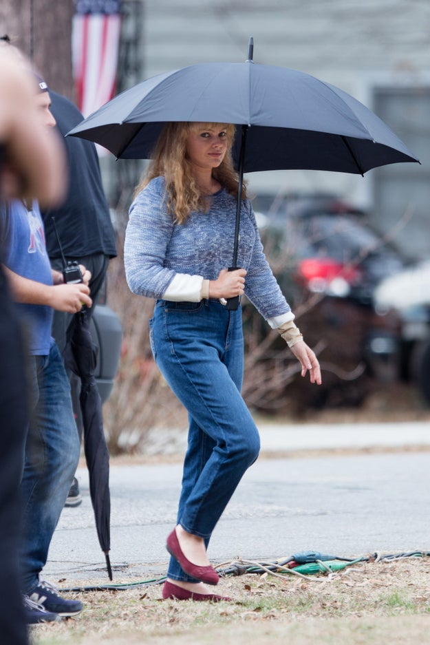And this is Margot Robbie as Tonya Harding in the upcoming biopic I, Tonya.