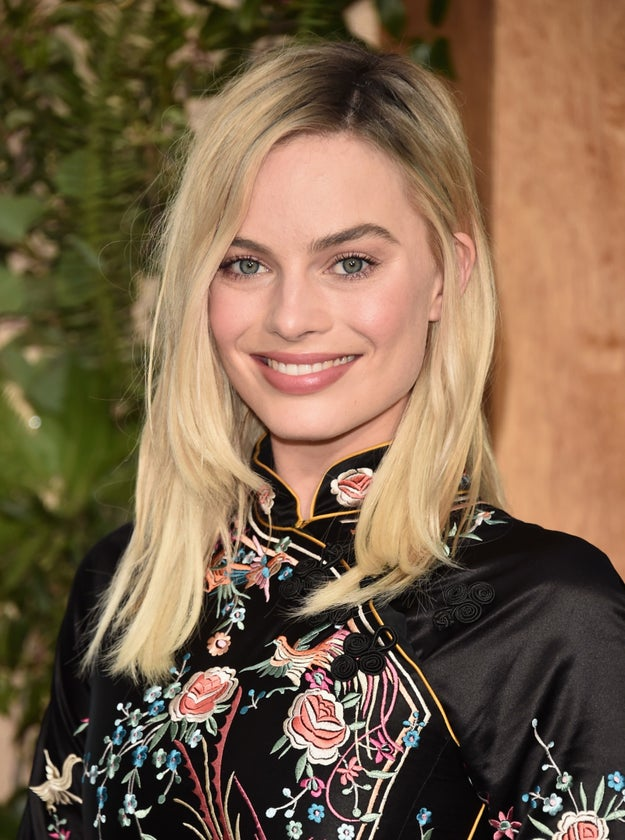 This is Margot Robbie.