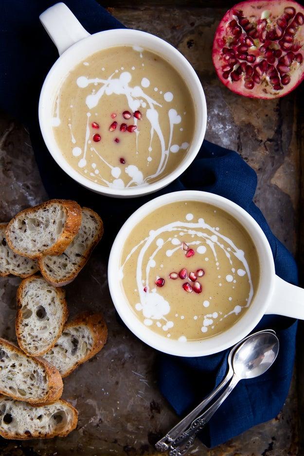 Vegan White Bean & Roasted Butternut Squash Soup