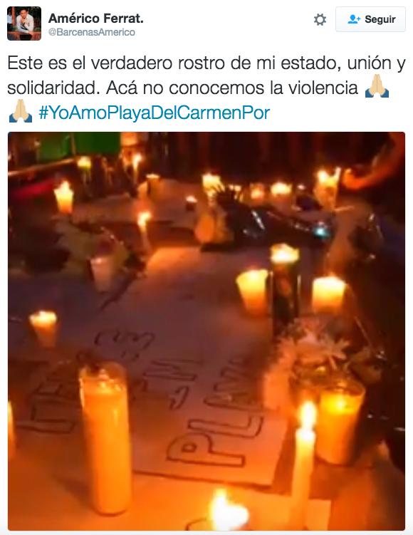 Sus residentes quieren que el resto del mundo vea lo que hay detrás de la violencia.