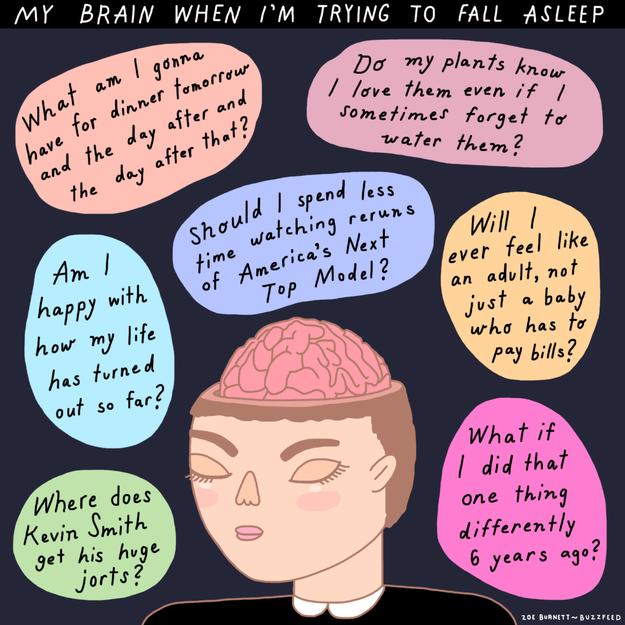 Kumpulan Ilustrasi Derita Orang Yang Susah Tidur Provoke