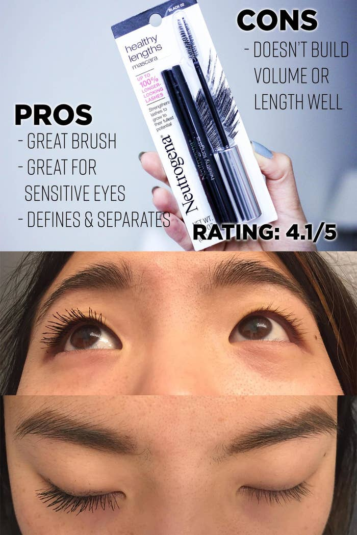 I Tried Lots Of Cheap Mascaras To Find The Best Ones Because I Am Frugal
