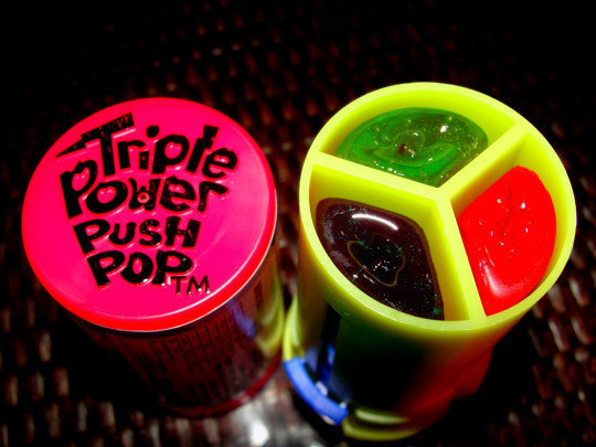Triple Power Push Pops