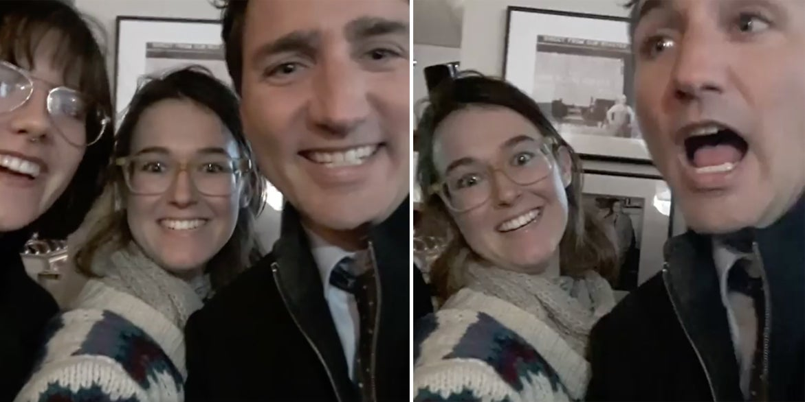 These Women Baited Trudeau With A Selfie To Ask About Indigenous Rights
