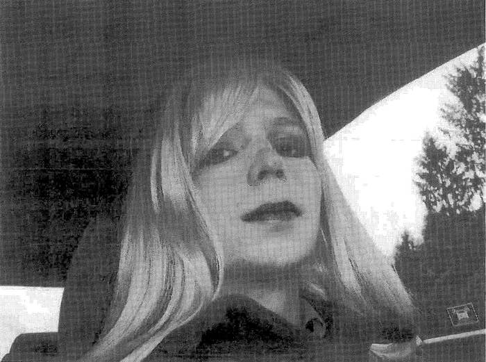 Chelsea Manning is pictured in this 2010 photograph obtained on Aug. 14, 2013.