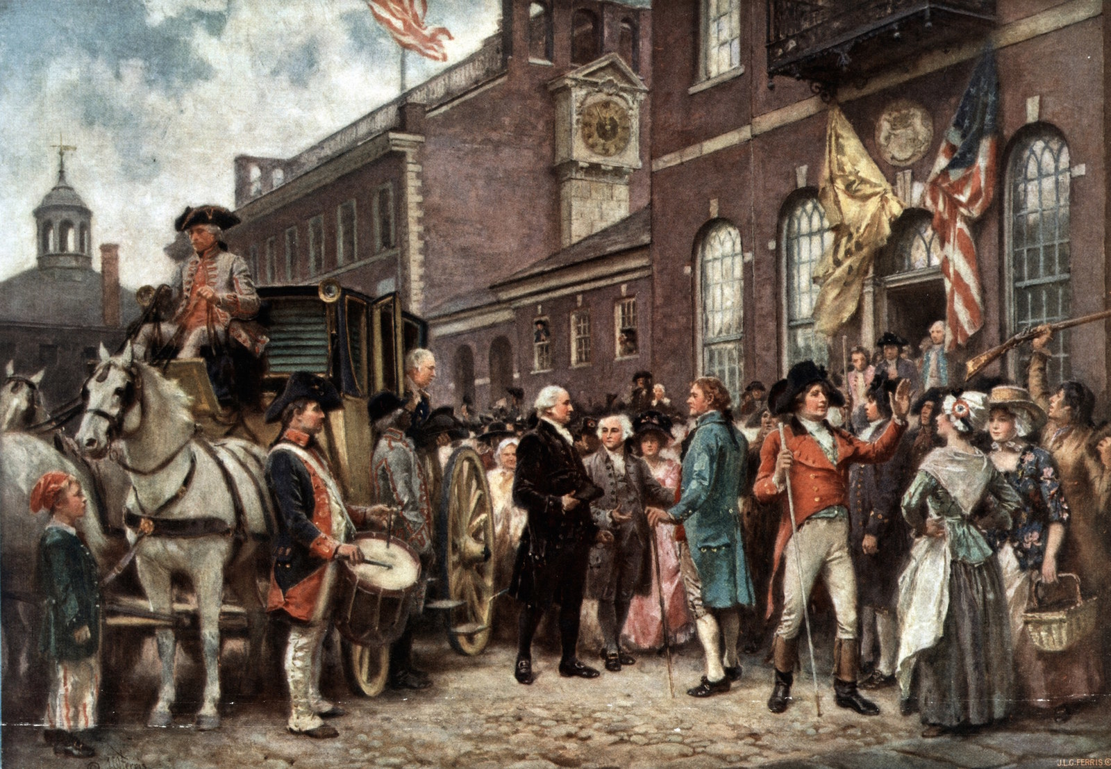 a history of the crisis in philadelphia in 1793 Ap us history study play  (1793) declared that the u  bank president nicholas biddle called in loans from across the country resulting in a financial crisis.