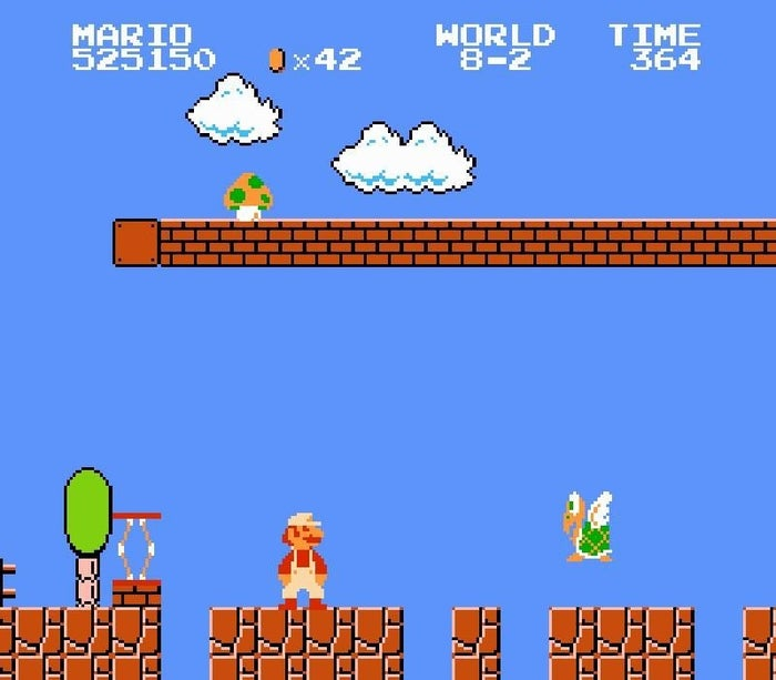 1. Nintendo began as a playing card company in 1889.2. At one point, Nintendo tried (and failed) to branch into making ballpoint pens, noodle soup, and baby swings. 3. In real life, Mario's jump would be over 25 feet high.