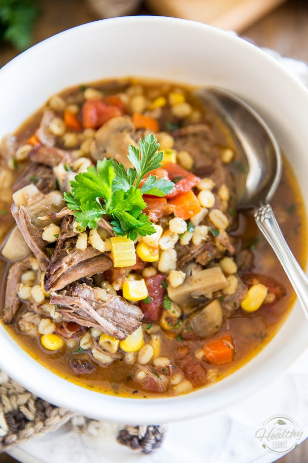 Comforting Beef And Barley Stew