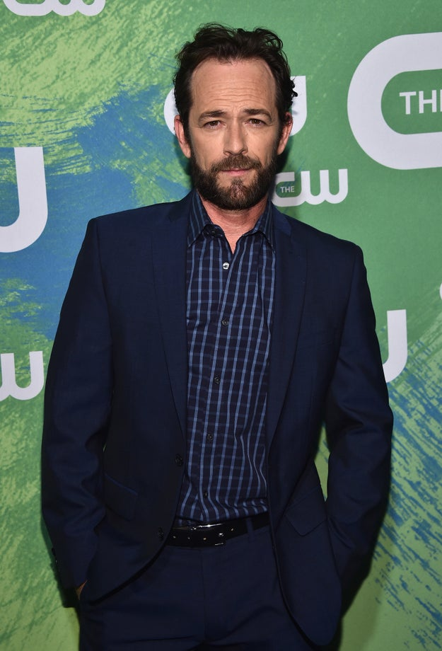 This is Luke Perry. You know him because he's Luke fuckin' Perry, doi.