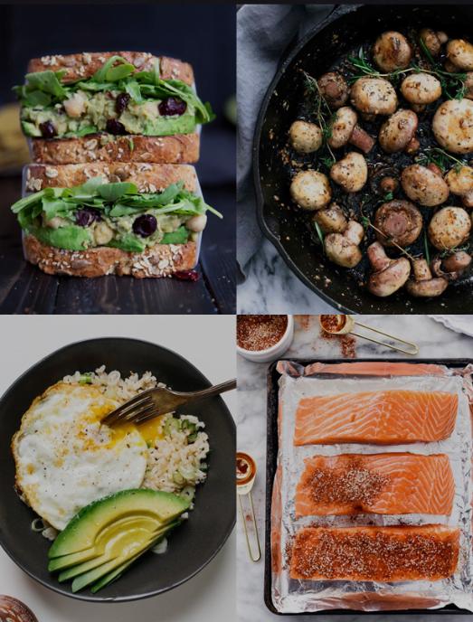 cenas saludables y ligeras peru