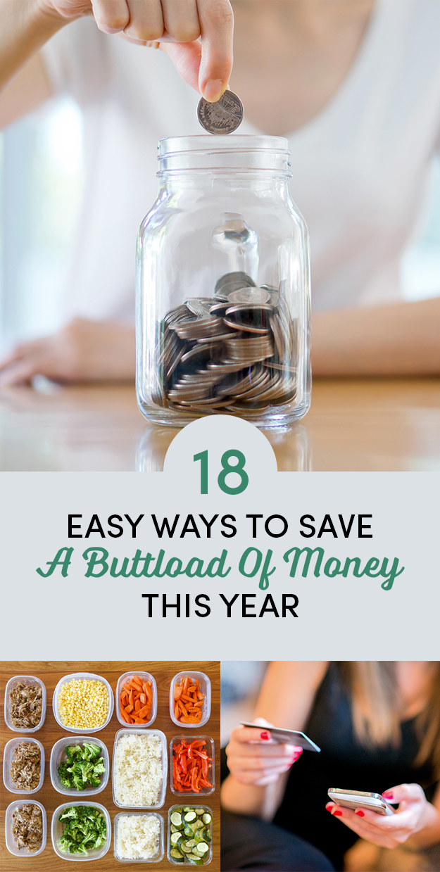 18 Ways To Save A Bunch Of Cash Without Even Trying