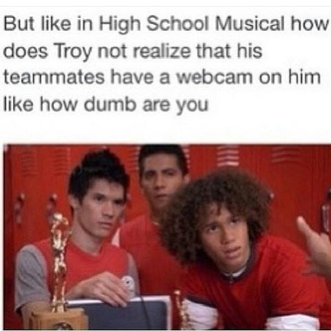 23 hilarious tumblr posts about high school musical that