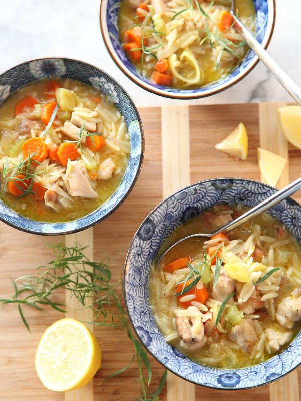 One-Pot Lemon Chicken Stew