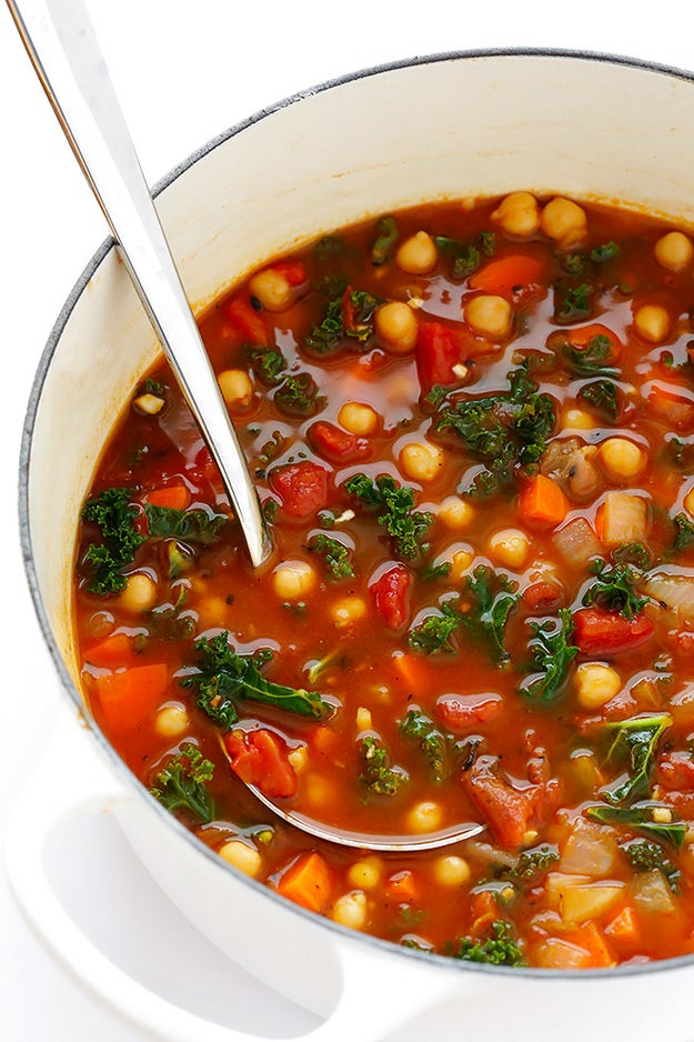 20-Minute Moroccan Chickpea Soup