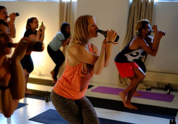 piwna joga