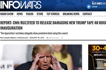 buzzfeed.com - This Guy Tricked Infowars Into Publishing A Completely Fake Report On Trump