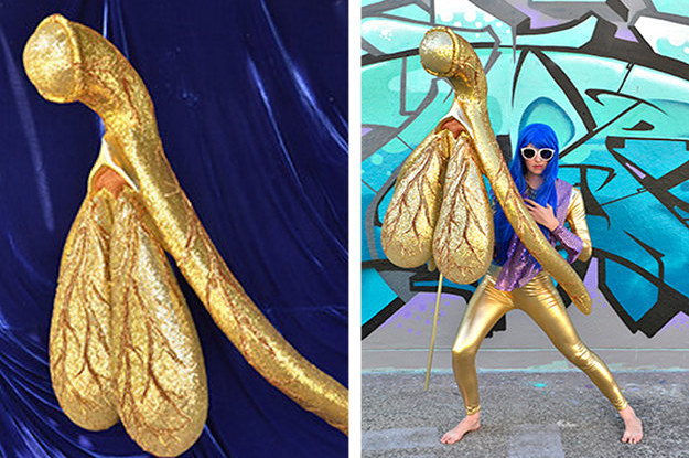 This Woman Made A Huge Sparkly Sculpture Of A Clitoris